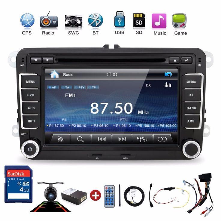 2 Din Dvd Player Mobil Pc Gps Navigasi Stereo Layar Video Multimedia Untuk VW/Volkswagen/Passat/POLO/GOLF/Skoda/Kursi/sharan/jetta