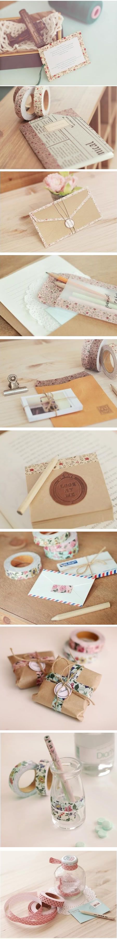 Sorry to be posting so many images in one post, but I just can't help but swoon over all these gorgeous paper goods, Koreans really know how to make sweet, beautiful stationary. And their prices ar...