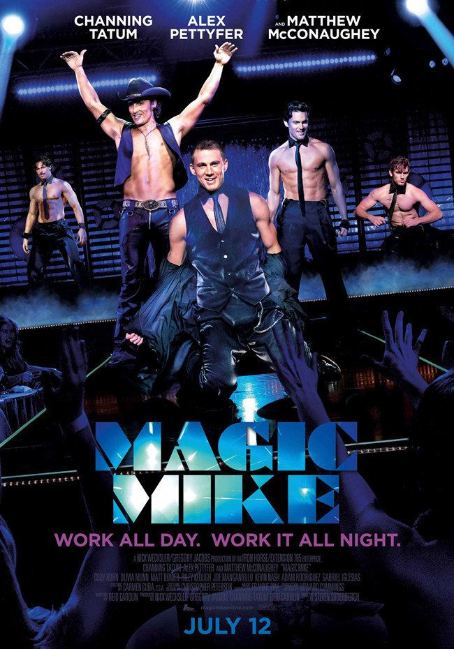 Magic Mike Movie Poster ($10)