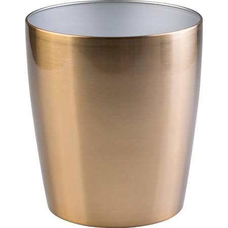 58 best waste bin images on pinterest bathrooms bath for Gold bathroom bin