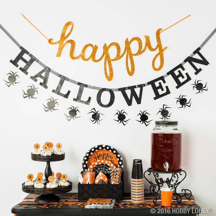 Set the scene this Halloween with spooky-cute party decor!