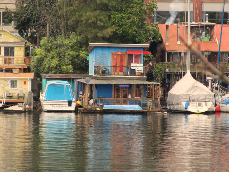Seattle Floating Home · Houseboat LivingLake ...