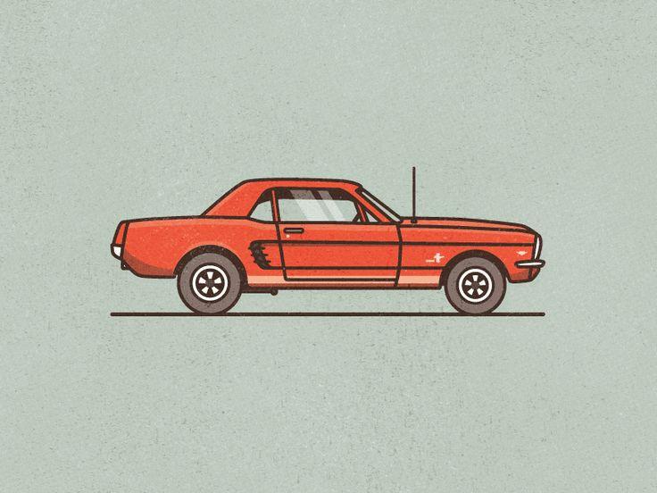 '66 Mustang by Sean KerryTwitter || Source