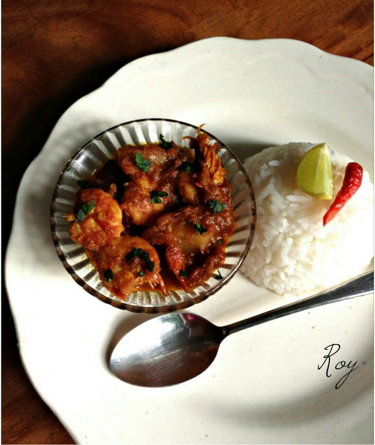 Chingri Maachher Kalia (Prawn/fish kalia – an authentic Bengali recipe)