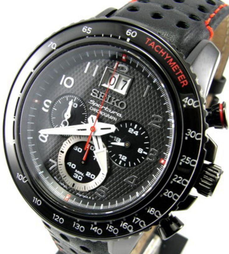 Seiko Sportura Chronograph Mens SPC141P1 - BEST QUALITY WATCHES