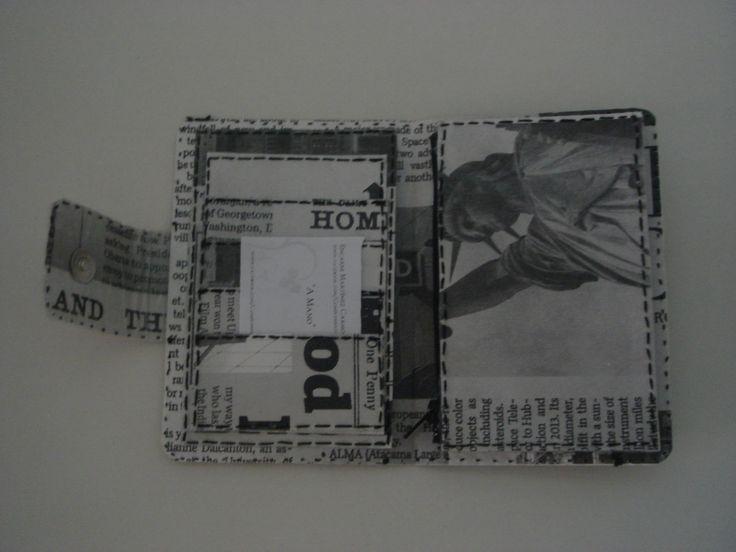 Mejores 61 imágenes de Carteras de mano y Bolsos realizados en papel ...