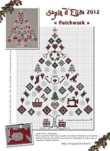 freebie Christmas cross-stitch