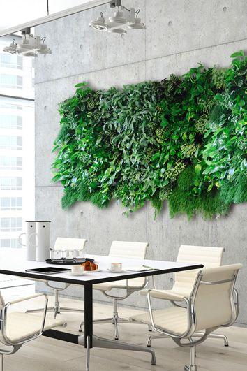 Groene muur - Living wall - Artiplant creatieve kantoorplanten