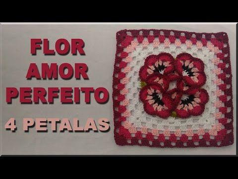 diy FLOR AMOR PERFEITO - passo a passo - YouTube
