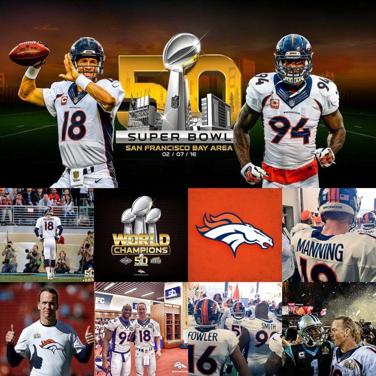 Peyton Manning - Super Bowl 50 - Denver Broncos