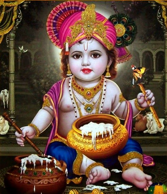 Lord Bal Krishna HD Wallpapers | Bal Krishna Pictures |Baby