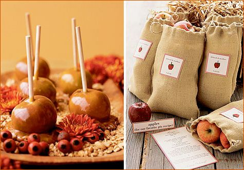 Fun ideas for autumn favors