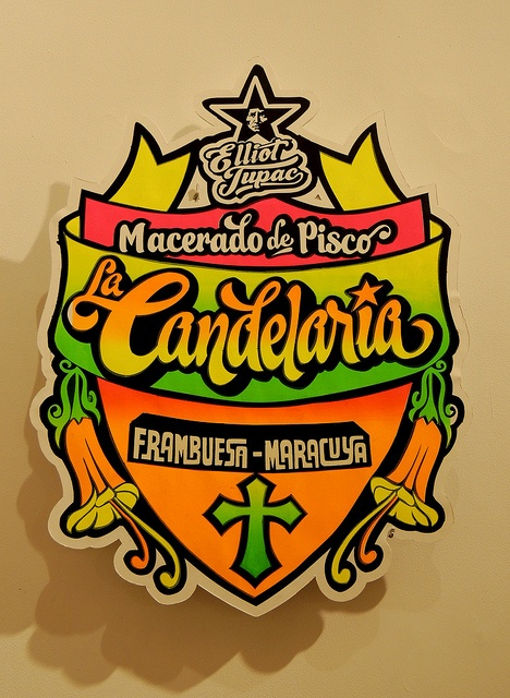 19 Pisco La Candelaria by Elliot Tupac, via Flickr - Afiches Chicha