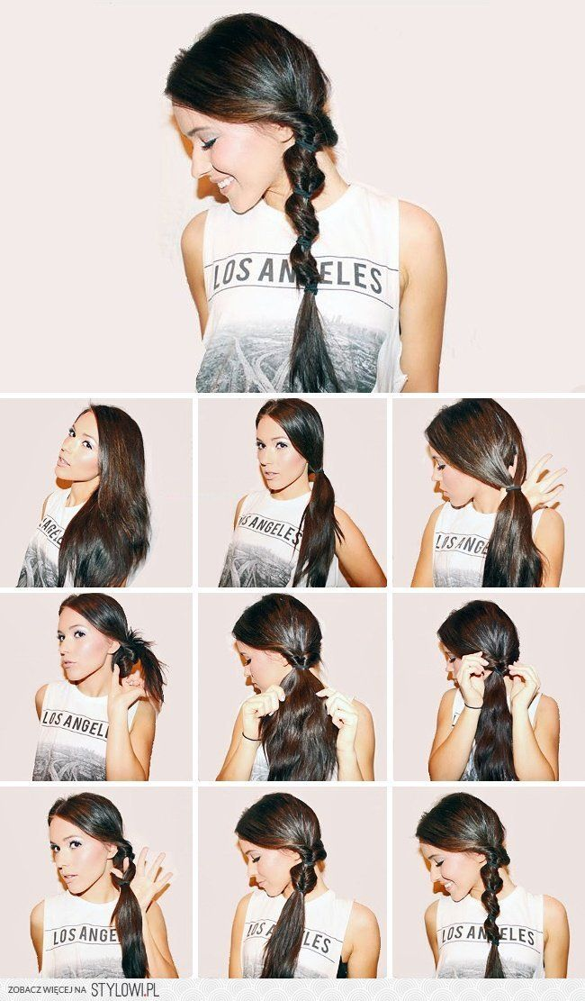 15beautiful hairstyles for those who adore their ponyt… na Stylowi.pl