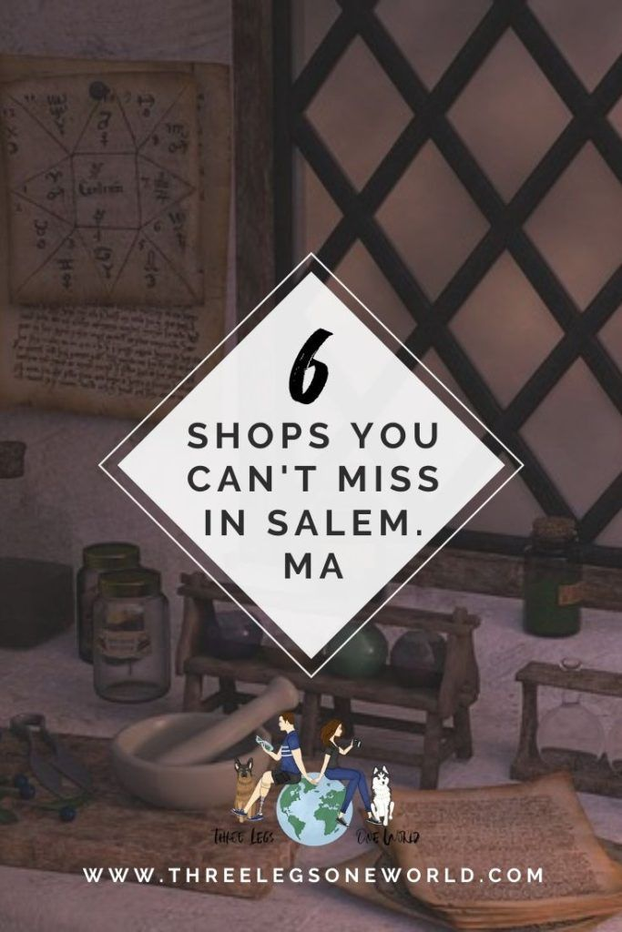 6 Of The Best Non Witch Shops In Salem You Can T Miss These Find Out More At Www Threelegsoneworld Com 6shopssalem Salem Witch Shop American Road Trip