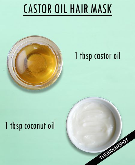 CASTOR COCONUT HAIR MASK It is best to mix castor oil with an equal amount of a base oil like coconut oil to get a better consistency and enhance the benefits. Rub it on your scalp and massage. Leave it on for 30 to 45 minutes. Finally, rinse it out and shampoo your hair. If it is difficult to remove, use a clarifying shampoo. You can also add a few drops of essential oil to the oil mixture. CASTOR ALOE VERA HAIR MASK Mix castor oil and aloe vera in equal quantities in a bowl. Mix it well…