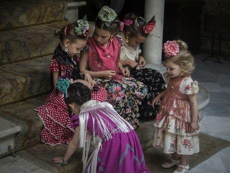 Moda flamenca infantil 2017 | Estilo y Belleza