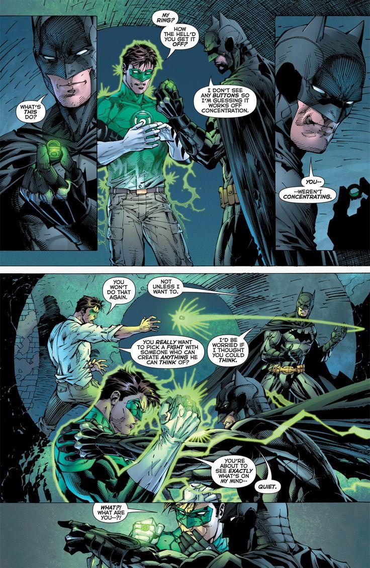 green lantern and batman relationship
