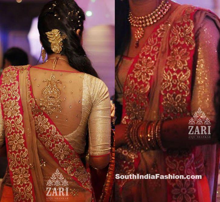 últimos diseños blusa nupcial de moda