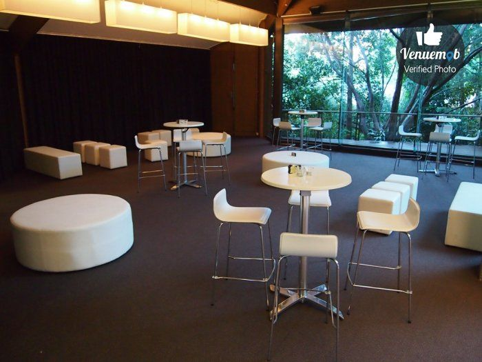 Rainforest Room function space at Melbourne Zoo