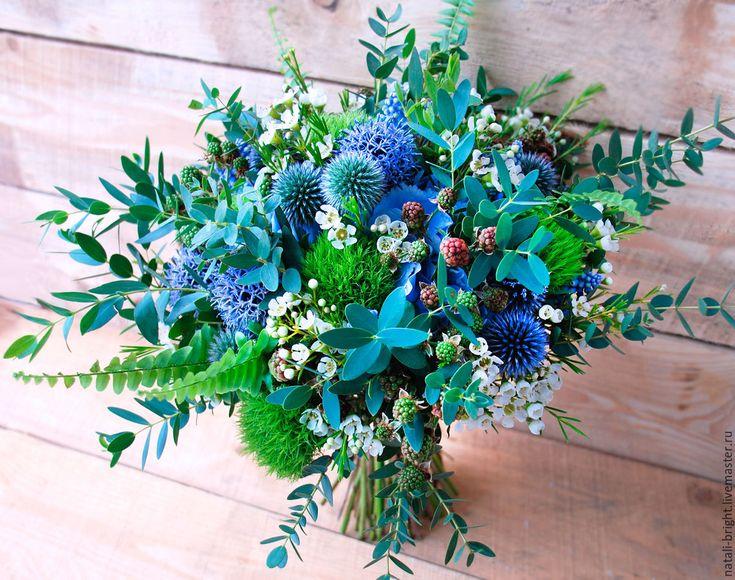 Купить Букет невесты из живых цветов Лесная нимфа - букет невесты, букет для невесты