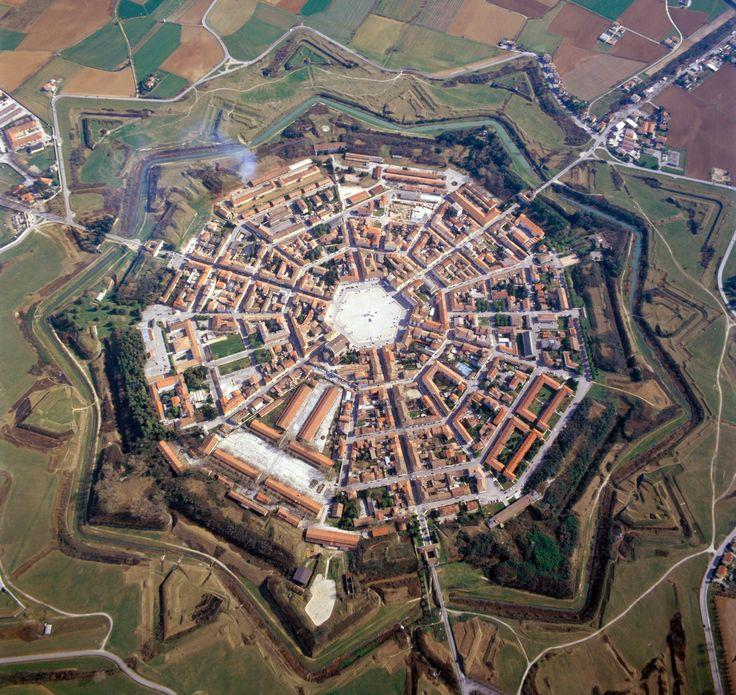 Palmanova - Foto aerea della Città Fortezza