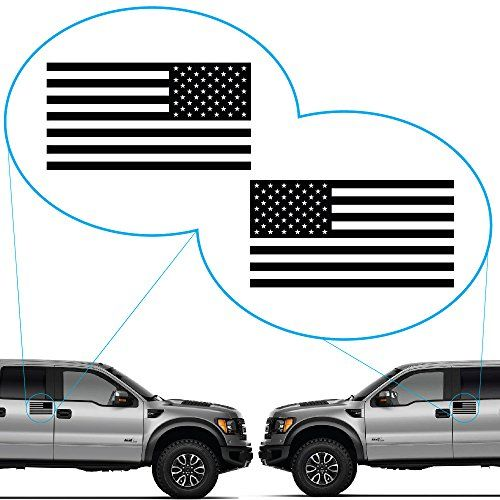 "American Flag United States Decal Sticker for Car Window, Laptop, Motorcycle, Walls, Mirror and More. # 816 (3"" x 5.7"", Black) #American #Flag #United #States #Decal #Sticker #Window, #Laptop, #Motorcycle, #Walls, #Mirror #More. #Black)"