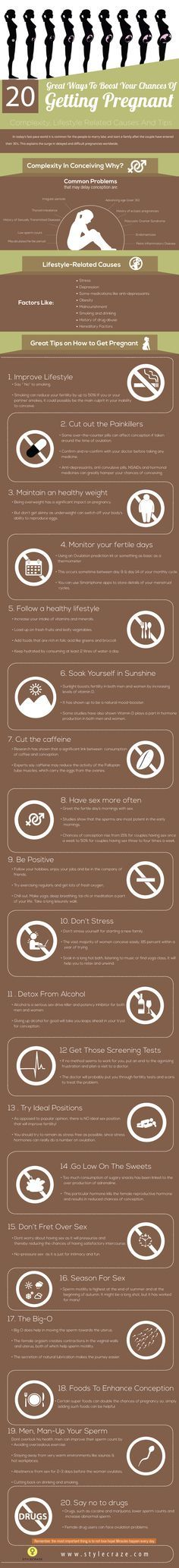 20 Great Tips To Improve Your Chances Of Getting Pregnant