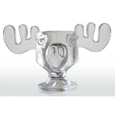 Amazon.com: Officially Licensed National Lampoons Christmas Vacation Glass Moose Mug - SINGLE Mug: Kitchen & Dining