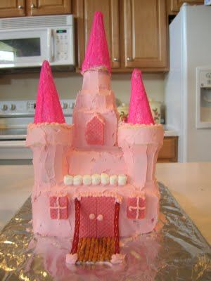 Castle Birthday Cakes for Girls | Families Are Forever