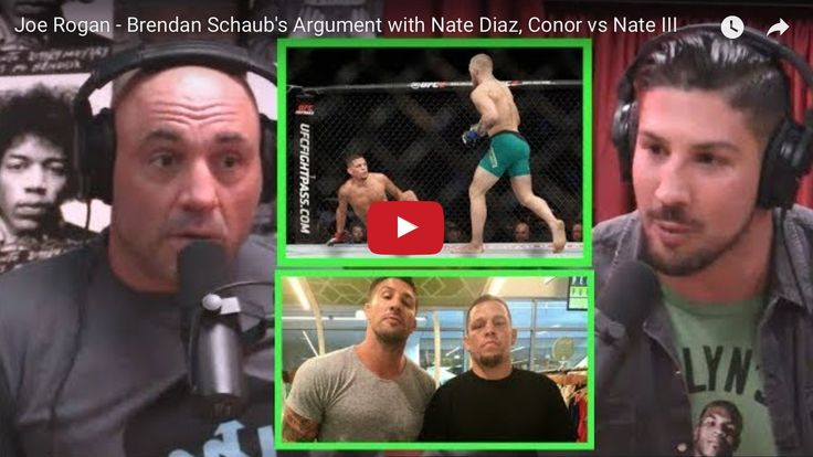Video 'Embarrassed' Brendan Schaub explains backstage blowout with Nate Diaz at Mayweather vs McGregor fight - MMAmania.com