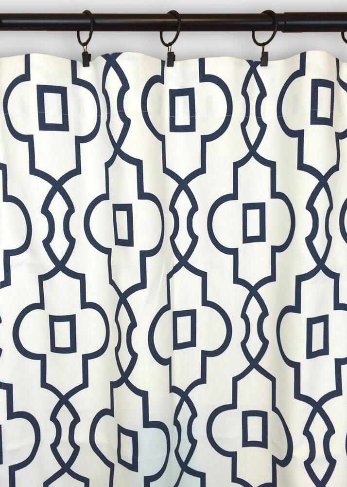 10% OFF SALE Premier Prints Bordeaux Trellis Curtain Panels. Window Drapes. 63, 84, 96, 108, 120 Lengths. Curtains. Navy Blue Geometric by thebluebirdshop on Etsy https://www.etsy.com/listing/207328231/10-off-sale-premier-prints-bordeaux