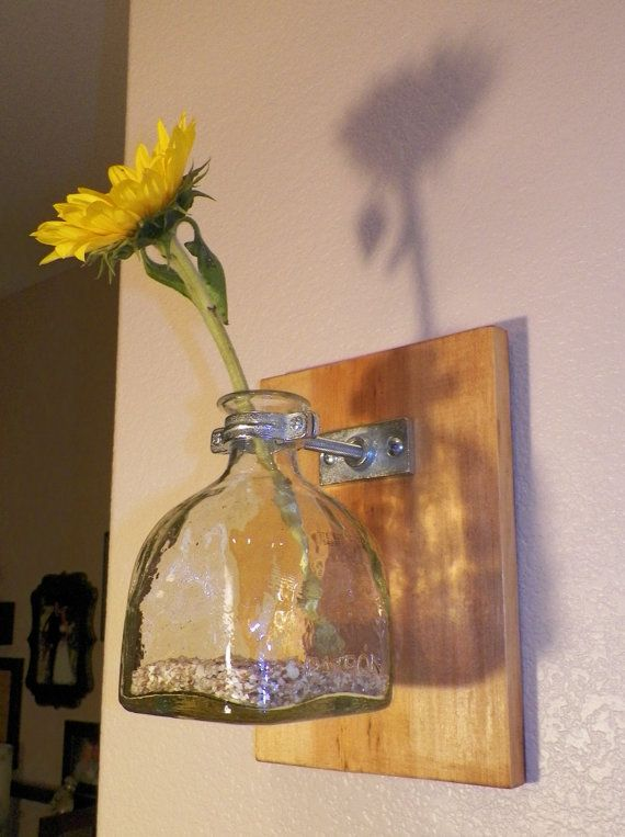 Patron Bottle Wall Sconce by ItsPeachyKeen on Etsy, $22.00