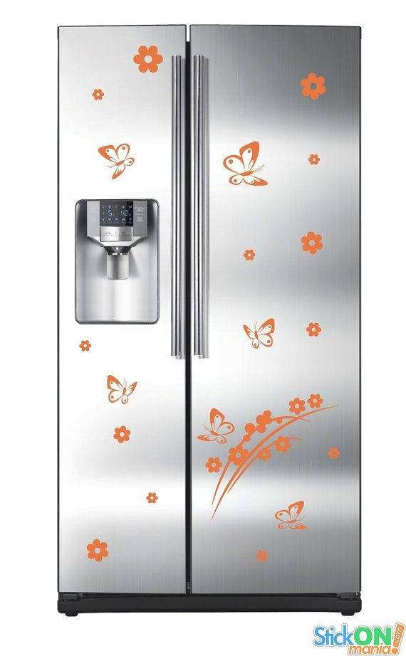 Refrigerator design 2 by stickonmania wall decal by stickonmania 21 00