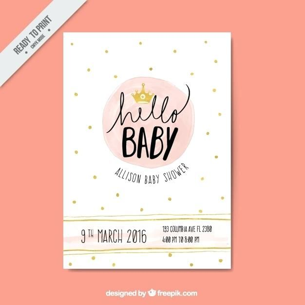 Ba Shower Vectors Photos And Files Free Download Baby Shower