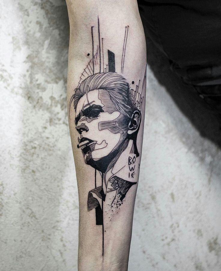 Tattoo done by: @koittattoo #abstract #tatuaje #retrato