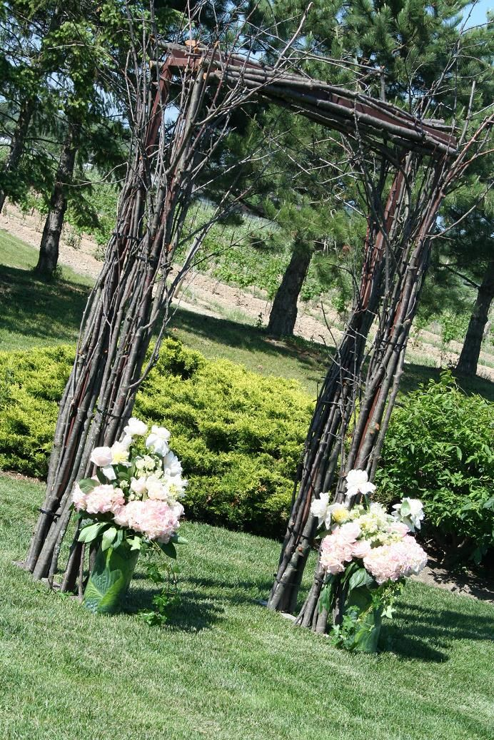 Image Detail For  Rustic Theme Wedding Arch /Chuppah/Arbors