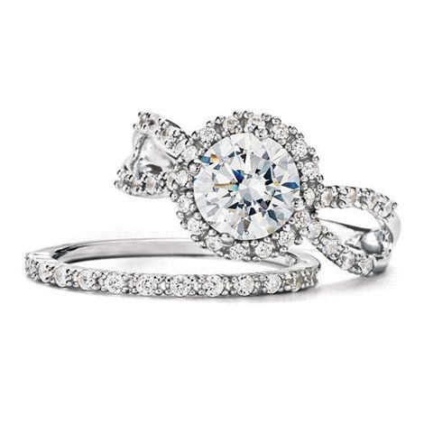 Sterling #Silver round halo-style CZ engagement Ring and bans set. Perfect for #Valentine's Day!  To view my current Avon brochure:  elizabeth.marra-chiodo@rogers.com Click here:  http://www.avon.ca/shop/en/avon-ca-next/brochure-list?BP=V5vFbOSlApk%3