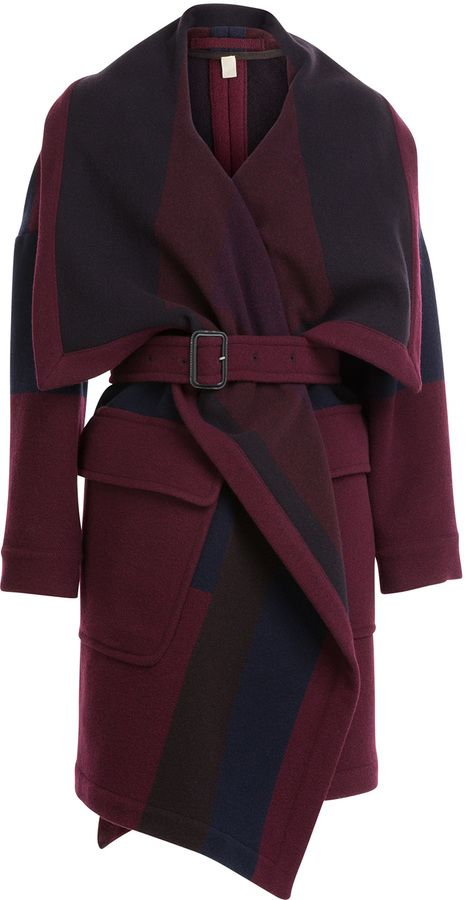 Burberry Cherbrooke Blanket Coat on shopstyle.com