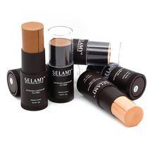 8 cores Creamy corretivo perfeito fundação destaque vara fundação contorno Face maquiagem à prova d ' água óleo Free Flawless fixa alishoppbrasil