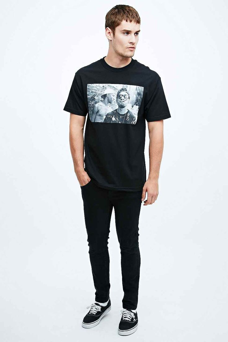 Odd Future Two Blunt Tee in Black