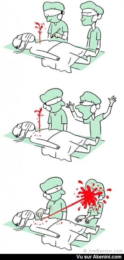 Humour Noir N°8163 - Humour de chirurgien