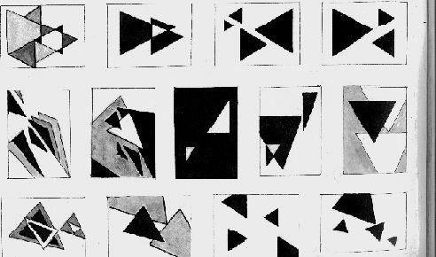 композиция из геометрических фигур динамика - Поиск в Google