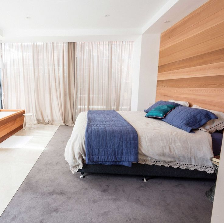 Brad  Dale Master Bedroom and Ensuite | The Block Shop - Channel 9