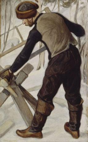 PEKKA HALONEN  Halonsahaaja (1902)