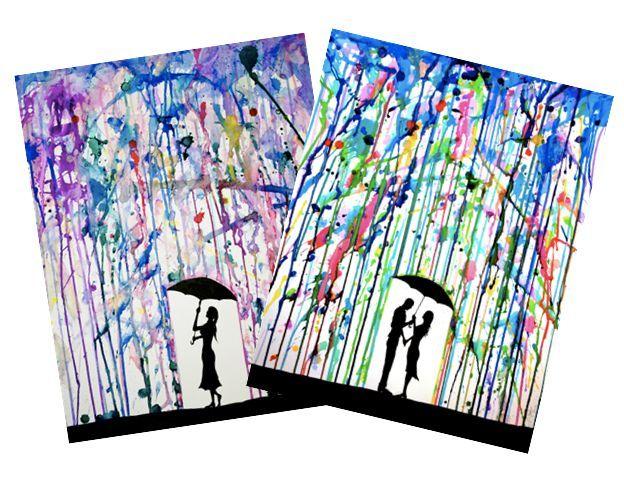 Art : à la manière de Marc Allante - La classe de Mallory