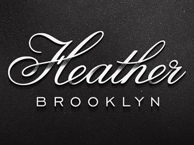 Heather logo, designer: Ryan Gury