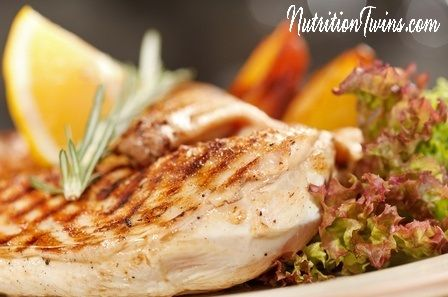 Rosemary Chicken | Only 120 Calories | Easy Weeknight Dinner |Not Your Boring Chicken |Packed with Nutrients That Improve Appearance of Skin |For MORE RECIPES, Nutrition & Fitness Tips please SIGN UP for our FREE NEWSLETTER NutritionTwins.com