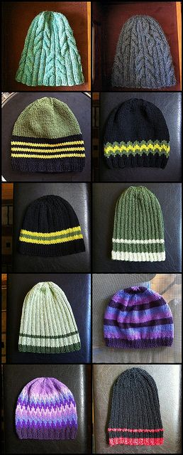 100 hats from stash_3 by hilpalny, via Flickr