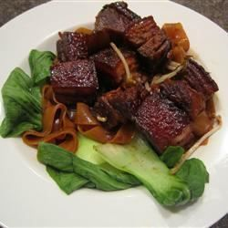 Dong Po (Chinese Pork Belly) - Diana Chen's recommendation. Use coconut aminos and coconut sugar  in place of soy sauce and rock sugar.